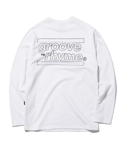 [그루브라임] 2018 BACK PRINT T-SHIRTS (WHITE) [GLT002G33WH]