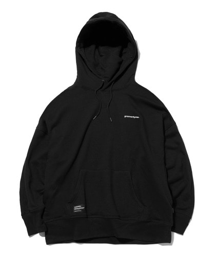 BASIC DROP OVER FIT HOODIE (BLACK) [GHD022G43BK]