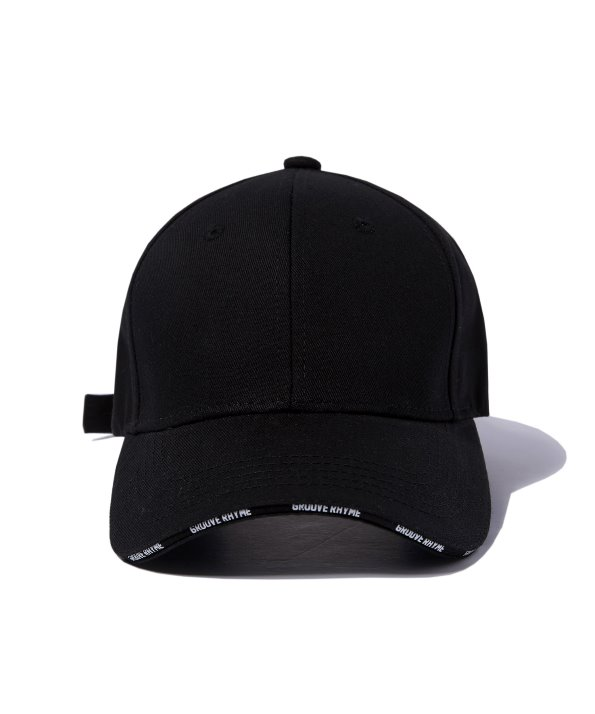 [그루브라임] CROSS BALL CAP (BLACK) [GCA007G13BK]