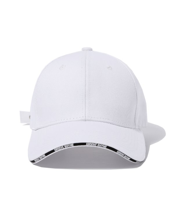 [그루브라임] CROSS BALL CAP (WHITE) [GCA007G13WH]