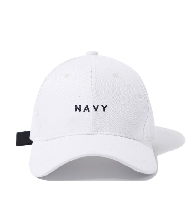 COLOR BUCKLE BALL CAP (WHITE) [GCA016G13WH]
