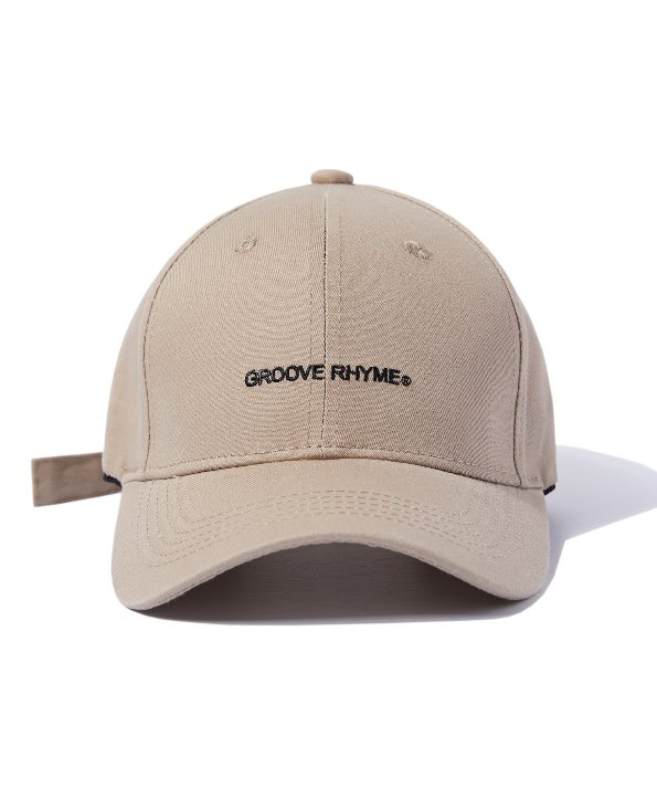 BUCKLE BALL CAP (BEIGE) [GCA001G13BE]
