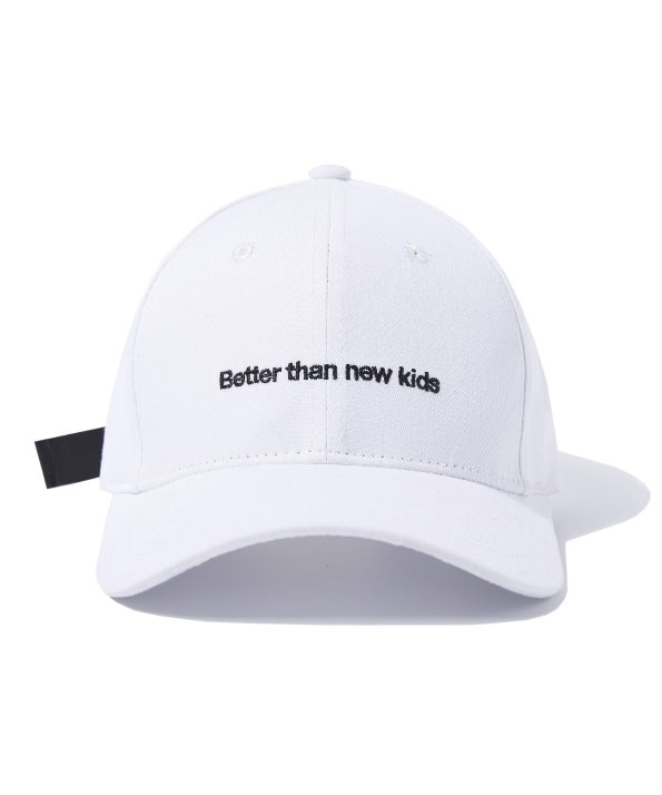 BUCKLE BALL CAP (WHITE) [GCA009G13WH]