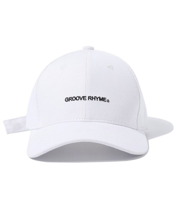 [그루브라임] BUCKLE BALL CAP (WHITE) [GCA001G13WH]