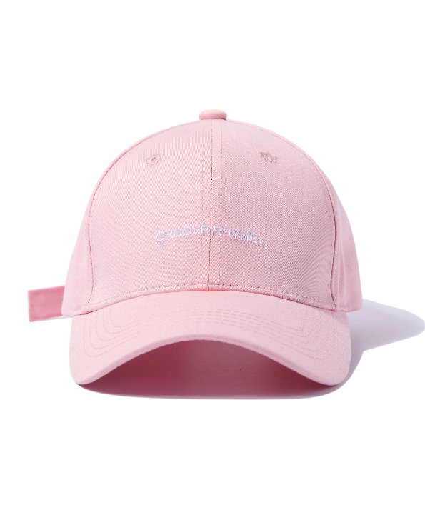 [그루브라임] BUCKLE BALL CAP (PINK) [GCA001G13PI]