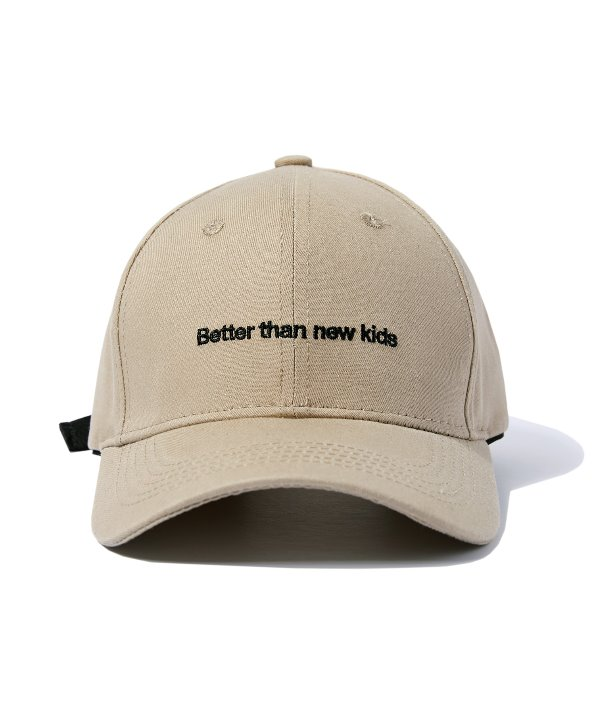 BUCKLE BALL CAP (BEIGE) [GCA009G13BE]