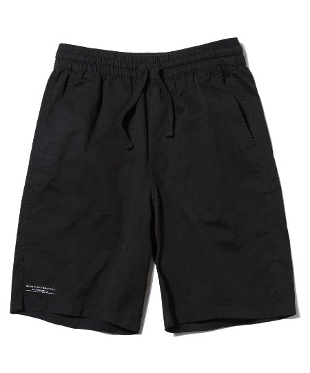 BASIC HALF PANTS (BLACK) [GSP020H23BK]