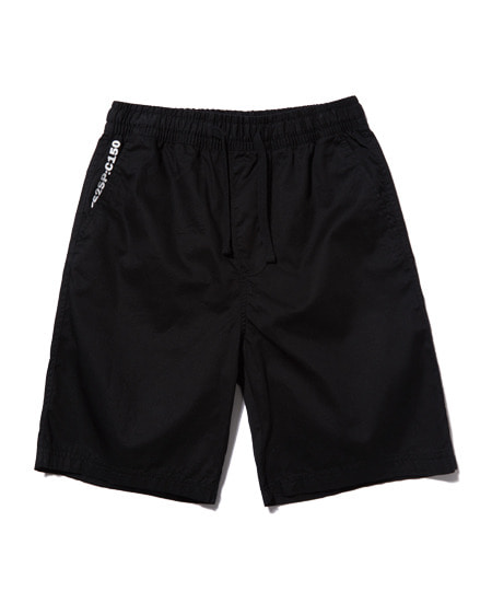 BASIC HALF PANTS (BLACK) [ESP001H23BK]