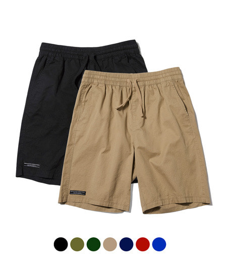 [그루브라임] [1+1] BASIC HALF PANTS [GSP020H23]