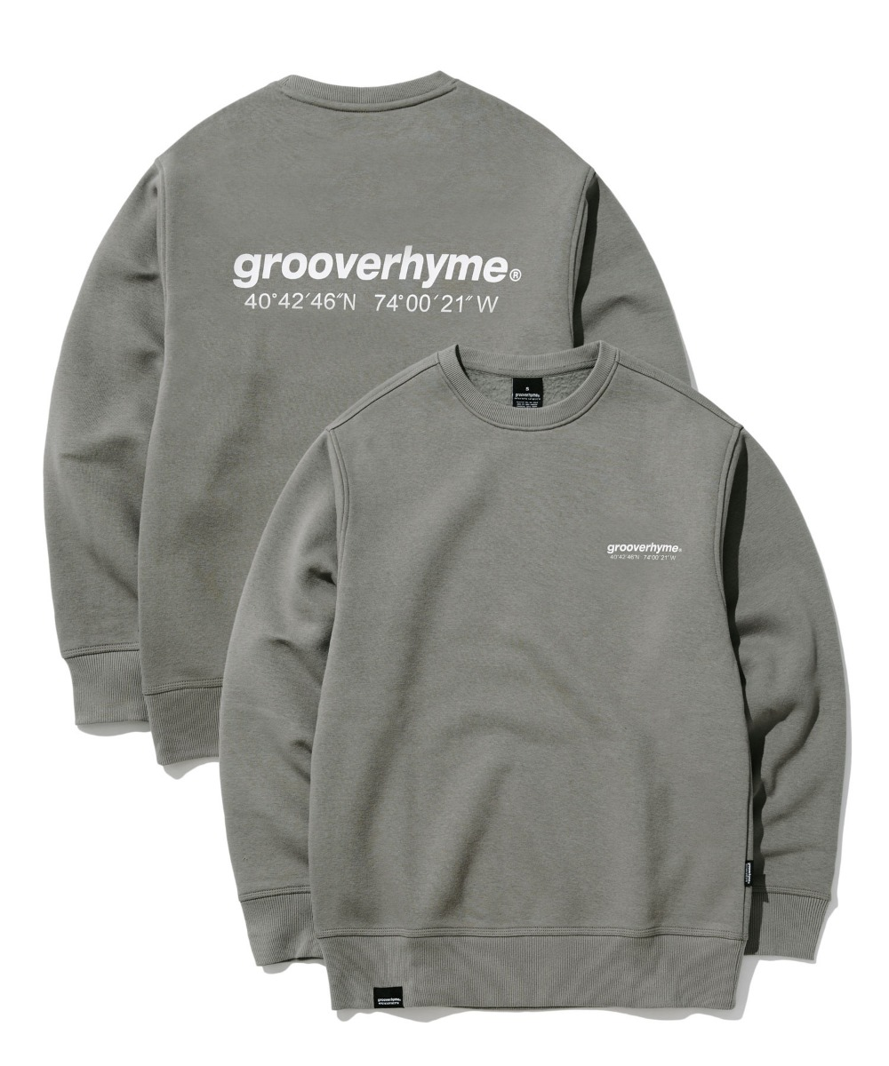 NYC LOCATION SWEAT SHIRTS (CHARCOAL) [GMT501H43CHA]