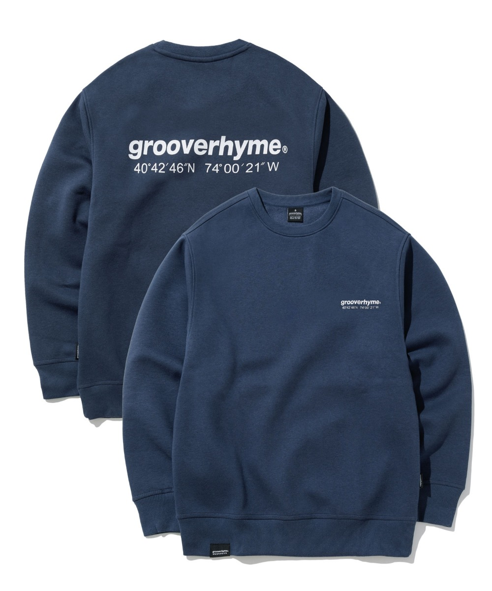 NYC LOCATION SWEAT SHIRTS (NAVY) [GMT501H43NAA]