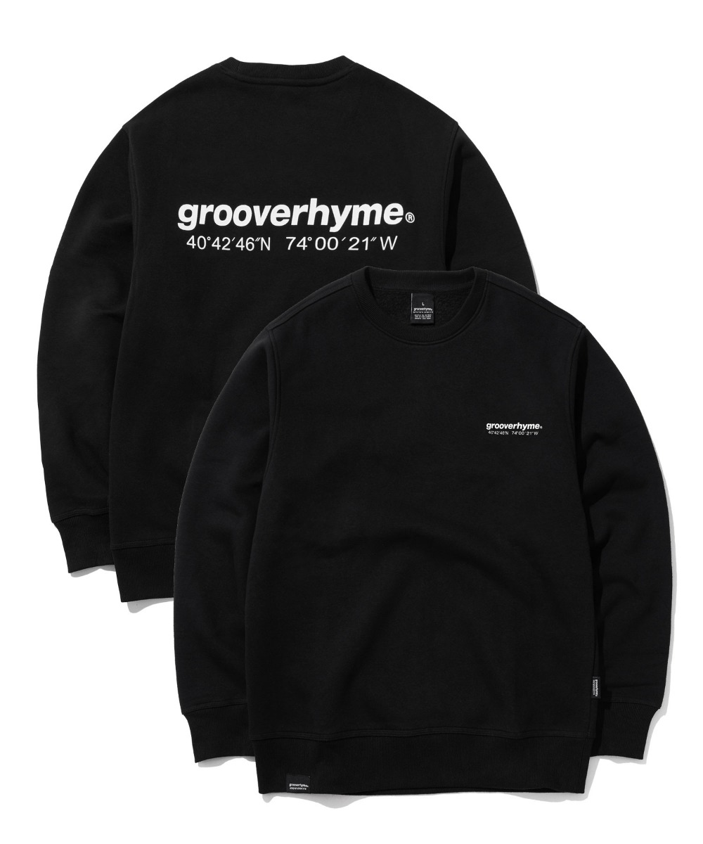 NYC LOCATION SWEAT SHIRTS (BLACK) [GMT501H43BKA]