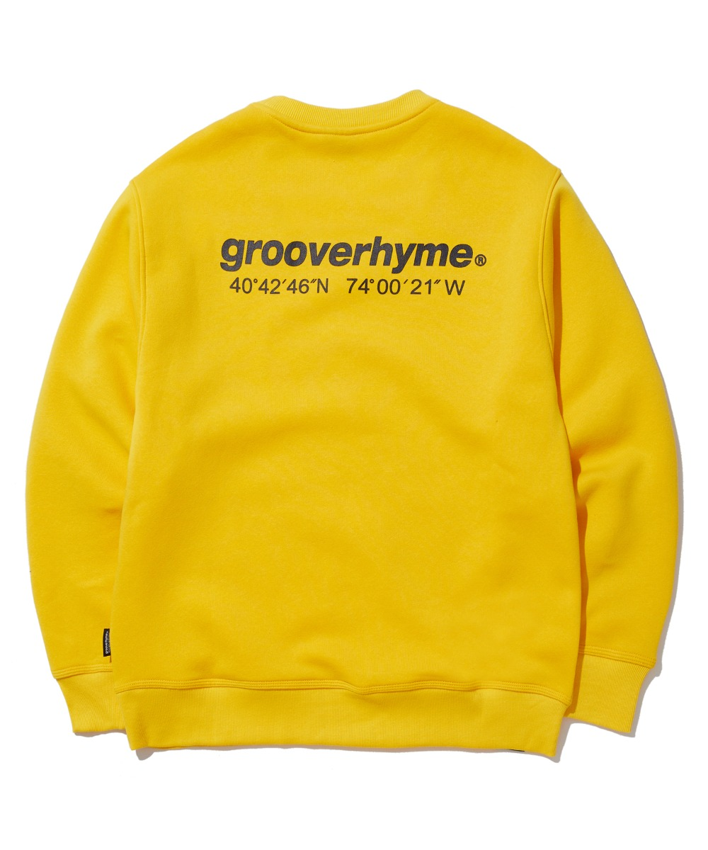 NYC LOCATION SWEAT SHIRTS (YELLOW) [GMT501H43YEA]