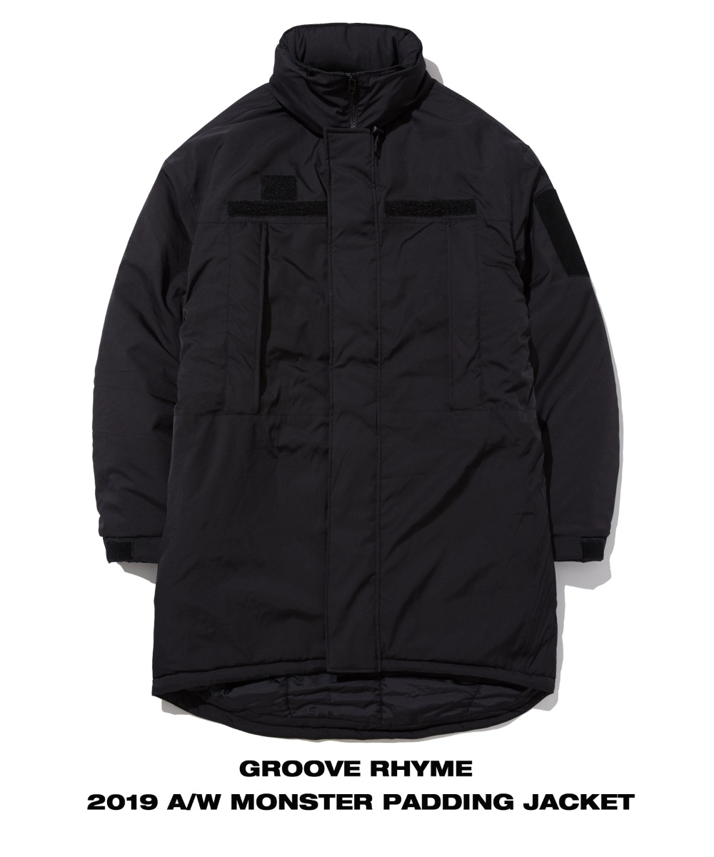 USMC MONSTER PARKA (BLACK) [GPD102H43BKA]