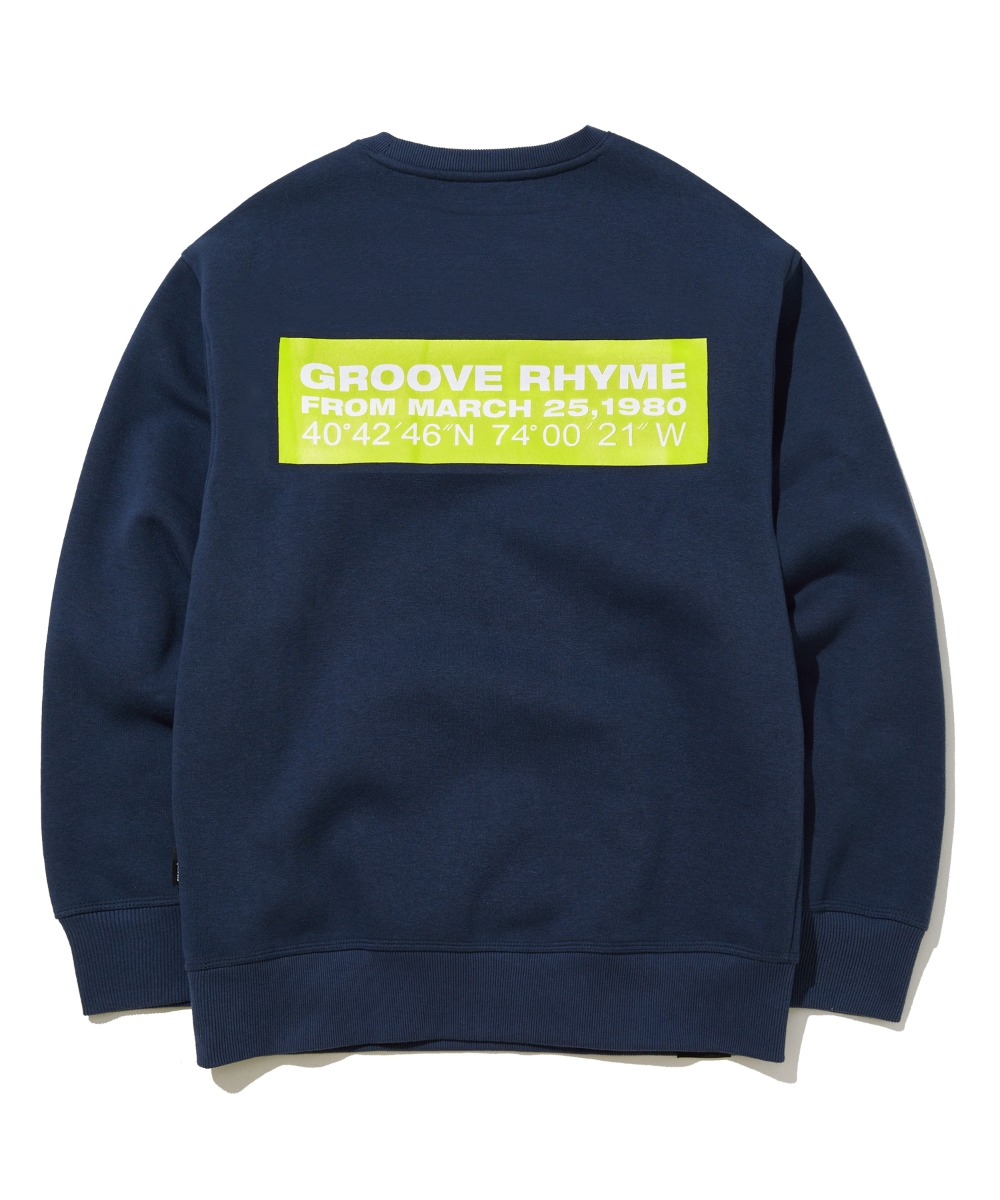 QUADRANGLE LOGO SWEAT SHIRTS (NAVY) [GMT504H43NAA]