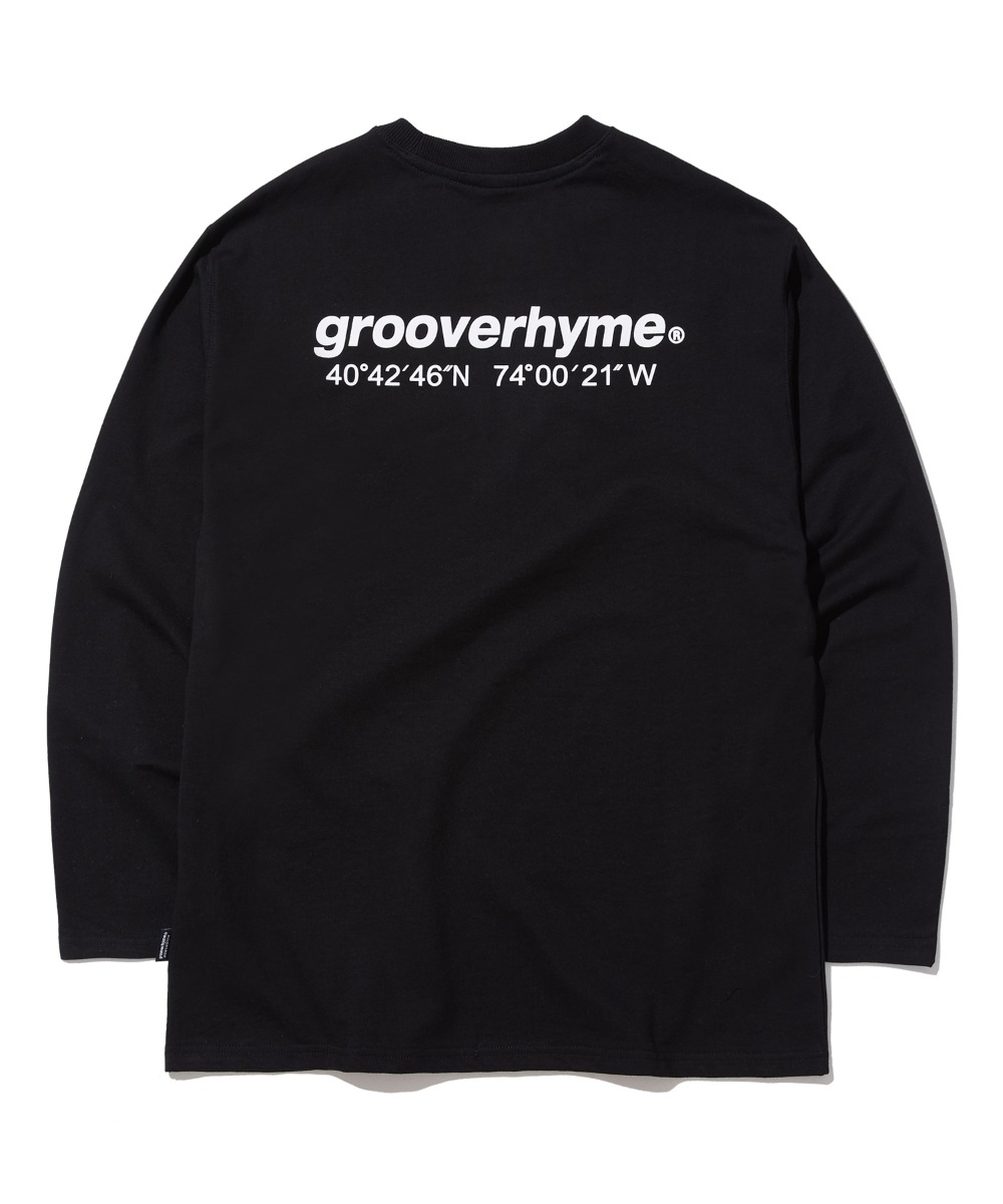 NYC LOCATION LONG SLEEVE T-SHIRTS (BLACK) [GLT623I13BK]