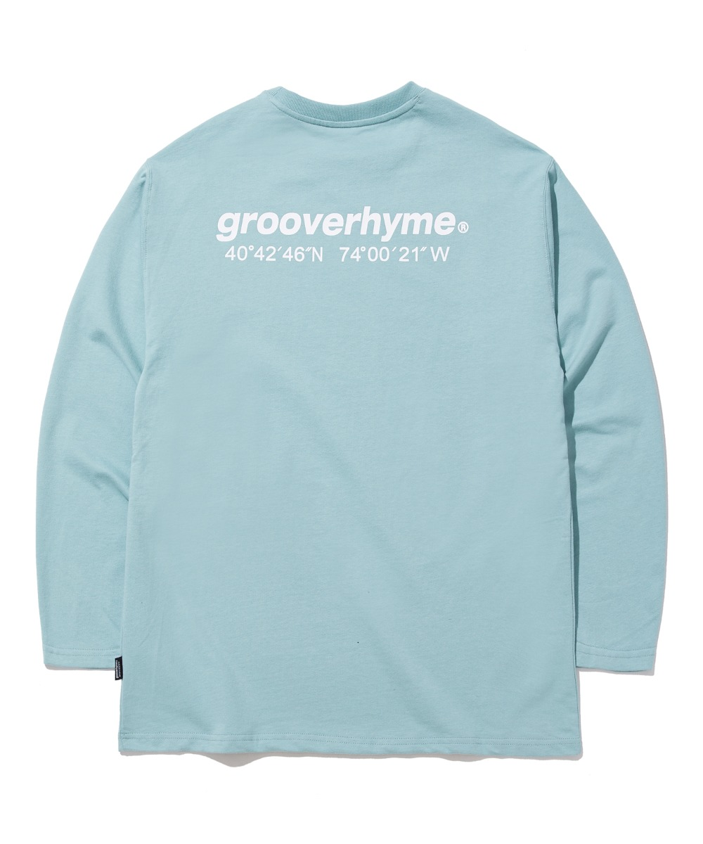 NYC LOCATION LONG SLEEVE T-SHIRTS (MINT) [GLT623I13MI]