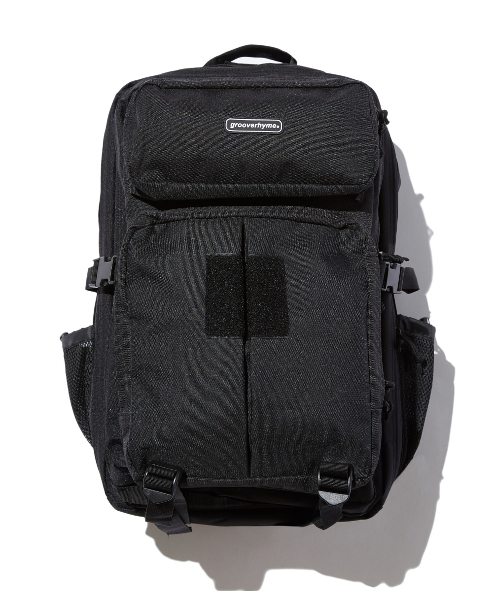 MULTY POCKET BACKPACK (BLACK) [GBG102H53BK]