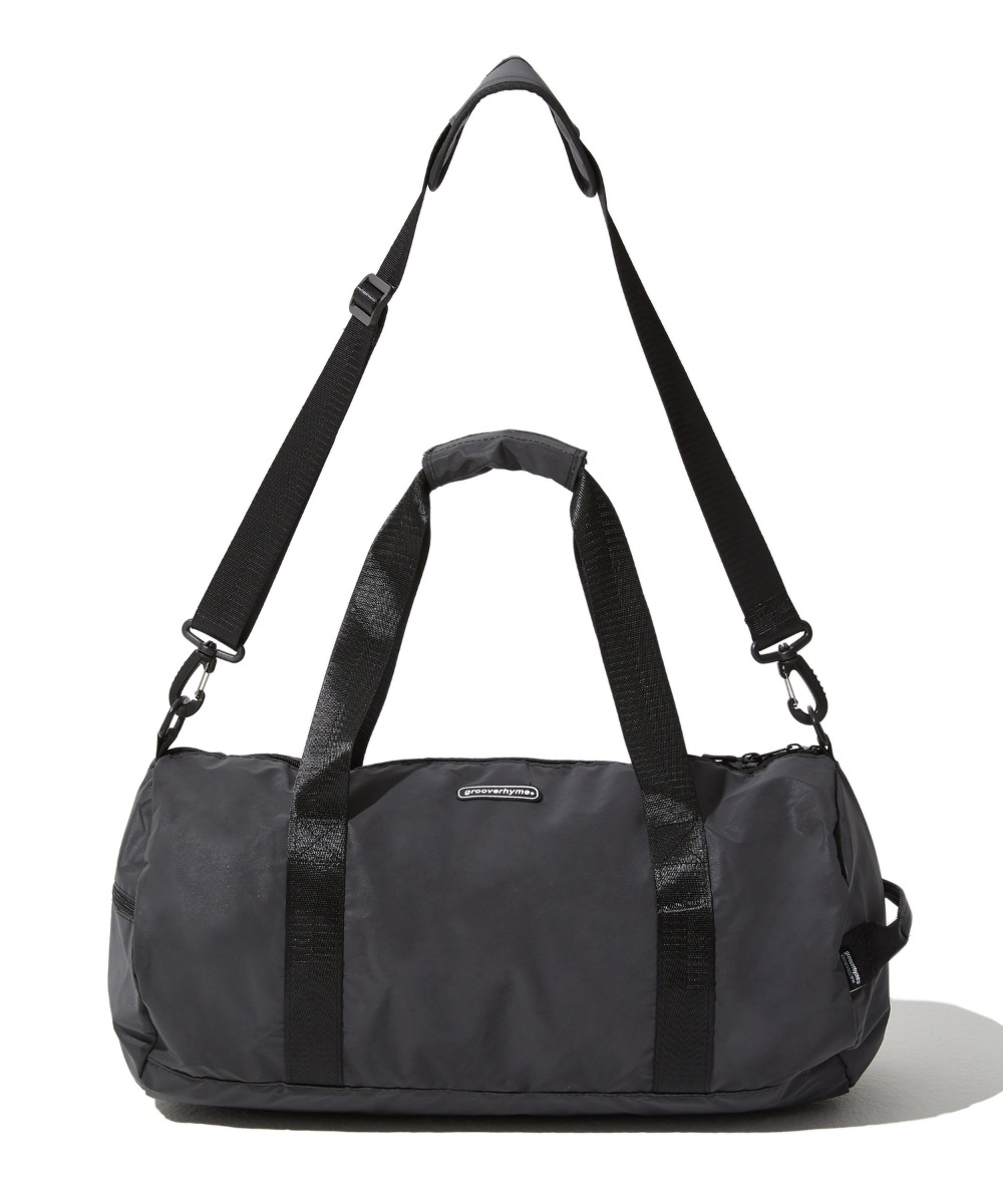 REFLECTIVE DUFFLE BAG (BLACK) [GBG104H53BK]