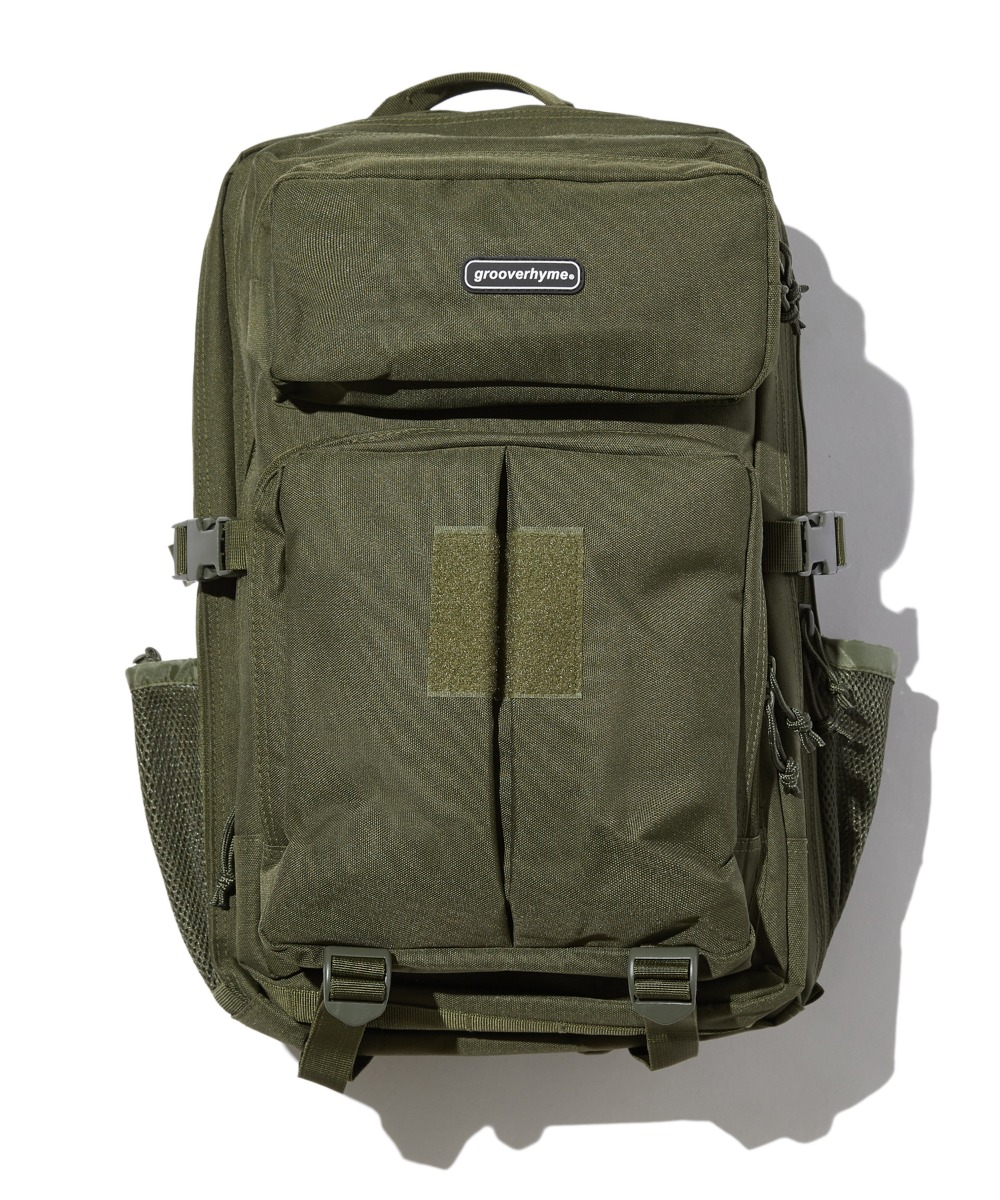 MULTY POCKET BACKPACK (KHAKI) [GBG102H53KH]