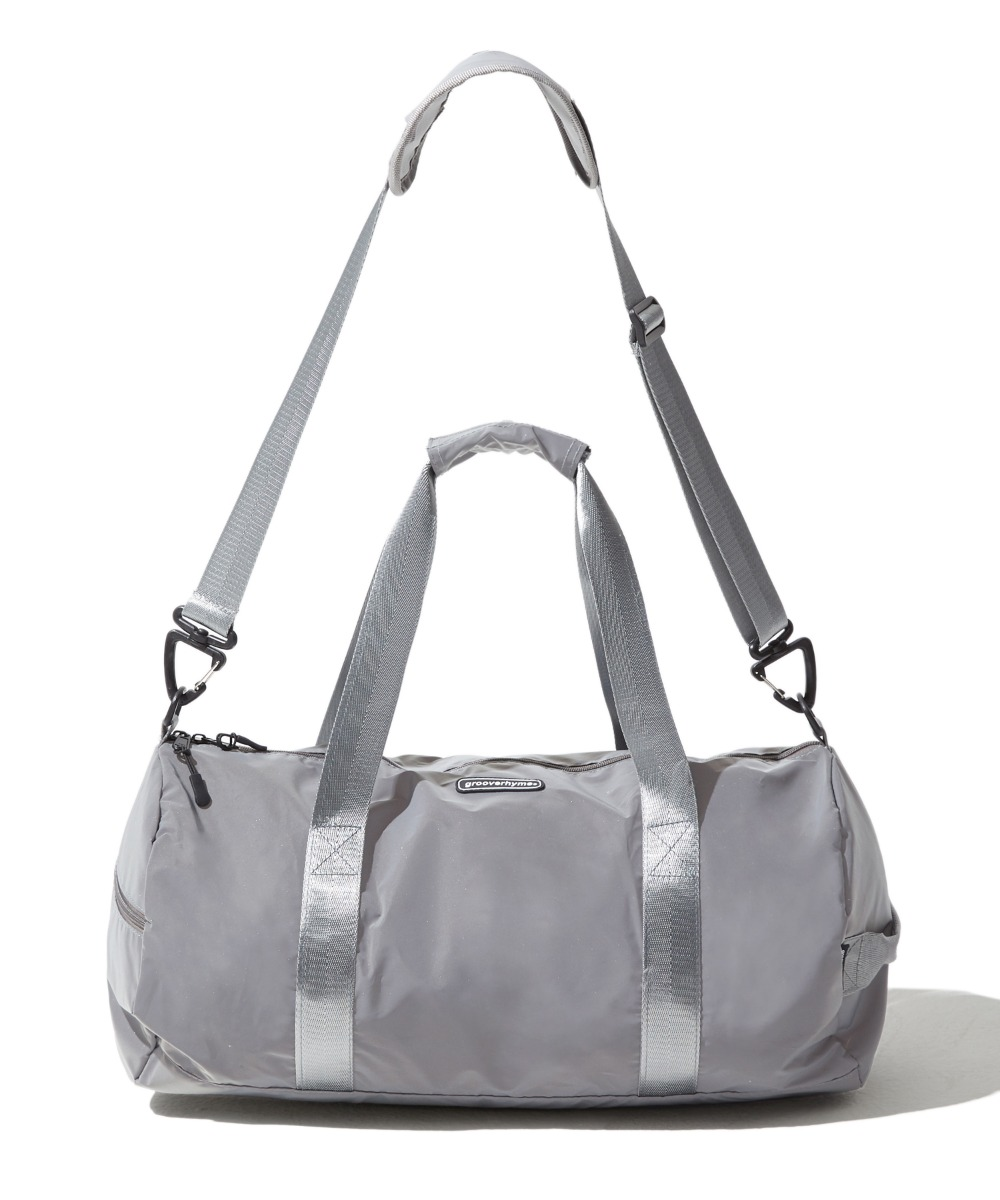 REFLECTIVE DUFFLE BAG (GREY) [GBG104H53GY]
