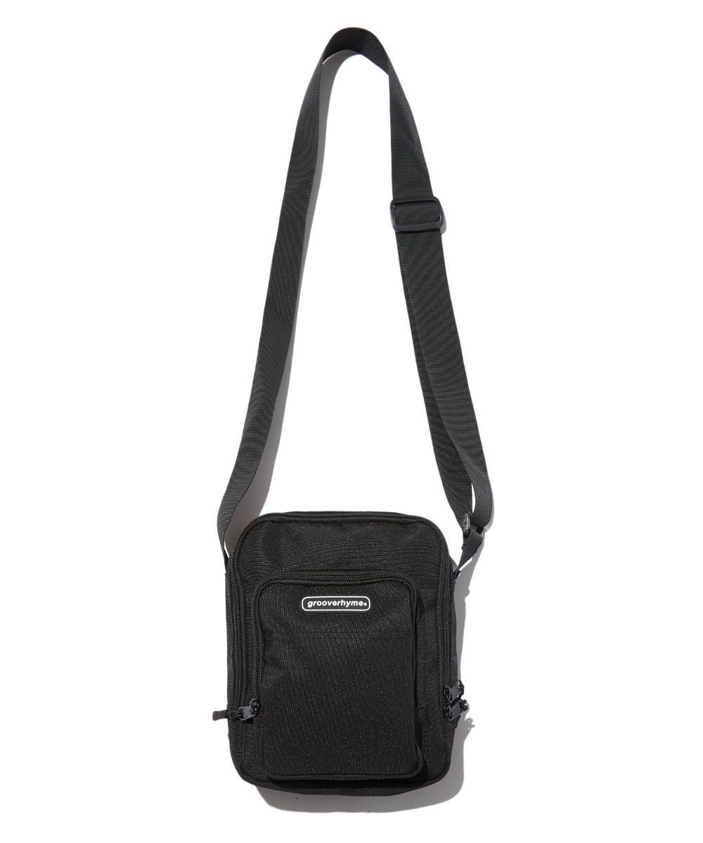 MINI POCKET CROSS BAG (BLACK) [GBG108H53BK]