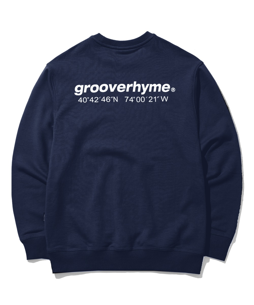 NYC LOCATION SWEAT SHIRTS (NAVY) [GMT521I13NA]