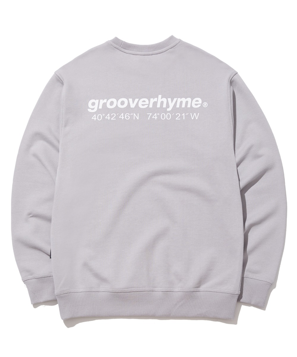 NYC LOCATION SWEAT SHIRTS (LIGHT GREY) [GMT521I13LG]