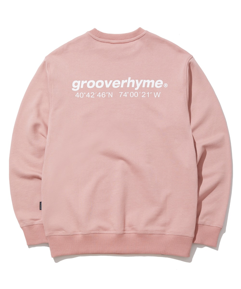 NYC LOCATION SWEAT SHIRTS (PINK) [GMT521I13PI]