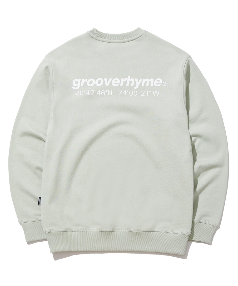 NYC LOCATION SWEAT SHIRTS (MINT) [GMT521I13MI]