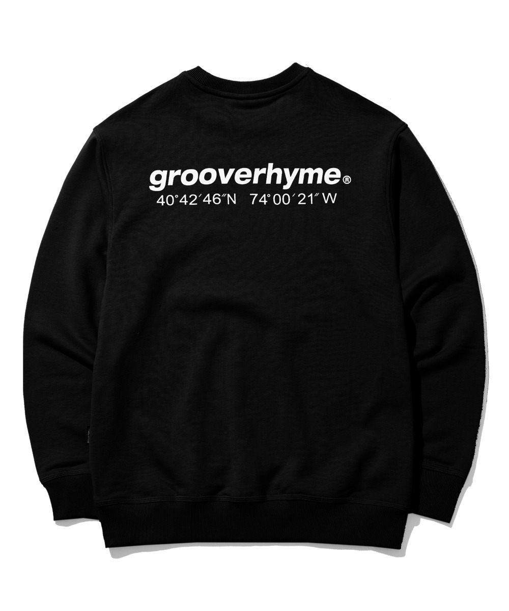 NYC LOCATION SWEAT SHIRTS (BLACK) [GMT521I13BK]