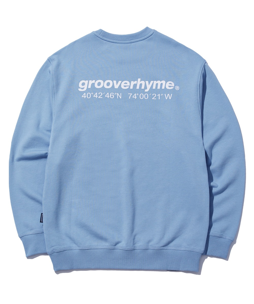 NYC LOCATION SWEAT SHIRTS (BLUE) [GMT521I13BL]