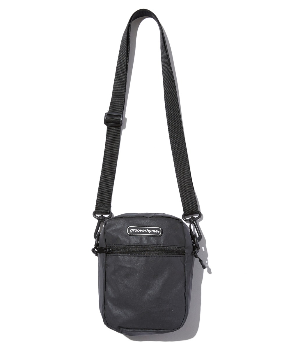 REFLECTIVE CROSS BAG (BLACK) [GBG111H53BK]