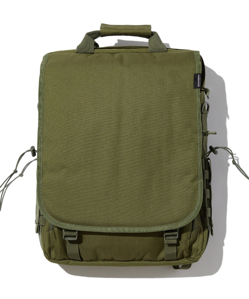 COVER 3WAY BAG (KHAKI) [GBG112H53KH]