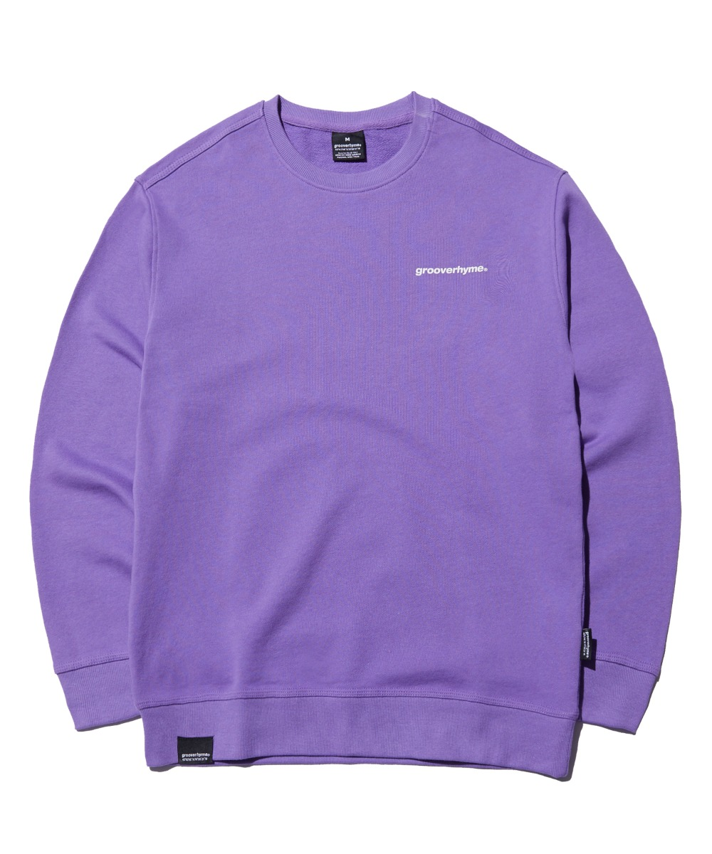 BASIC LOGO STANDARD SWEAT SHIRTS (PURPLE) [FROSCTM701PPP]