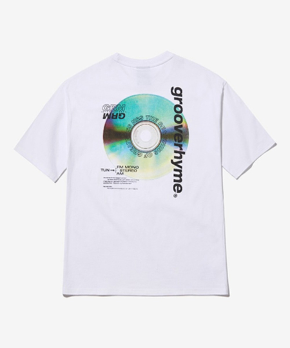 ALBUM PRINT OVER FIT T-SHIRTS (WHITE) [GTS013H23WO]