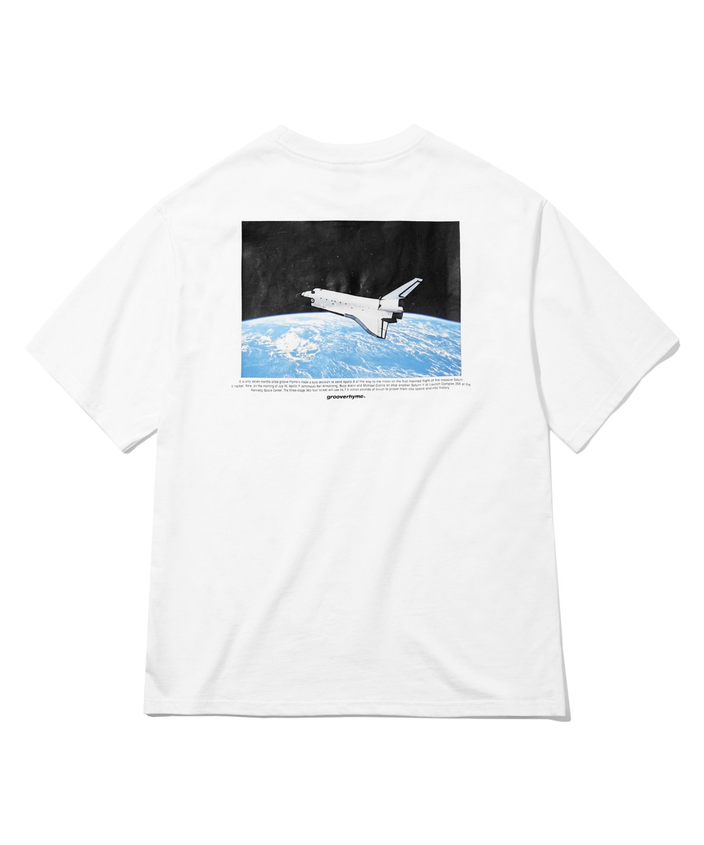 SPACESCAPE T-SHIRTS (WHITE) [GTS744I23WH]
