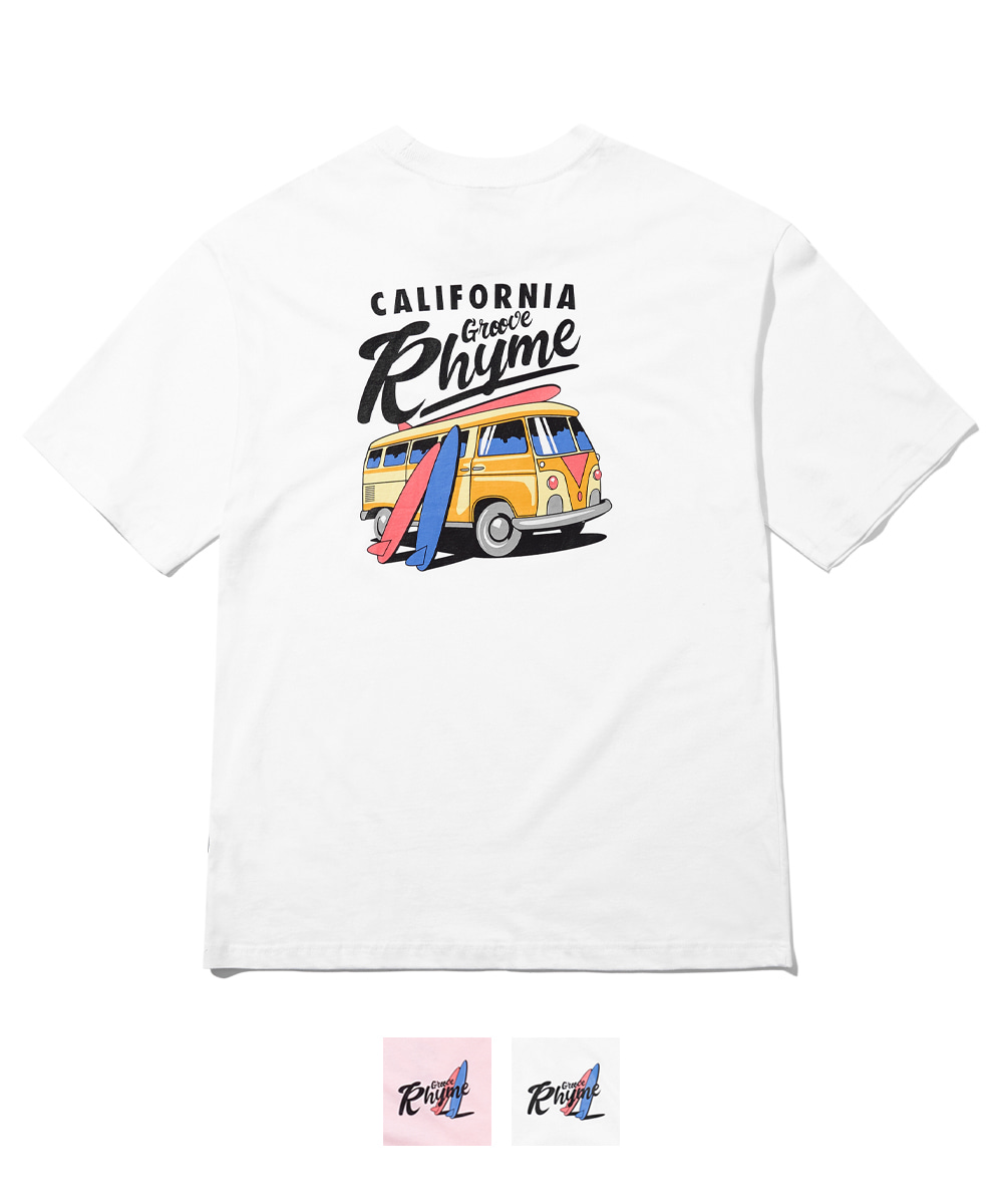 CALIFORNIA BUS OVER FIT T-SHIRTS (2 COLORS) [FRNMCTR715M]