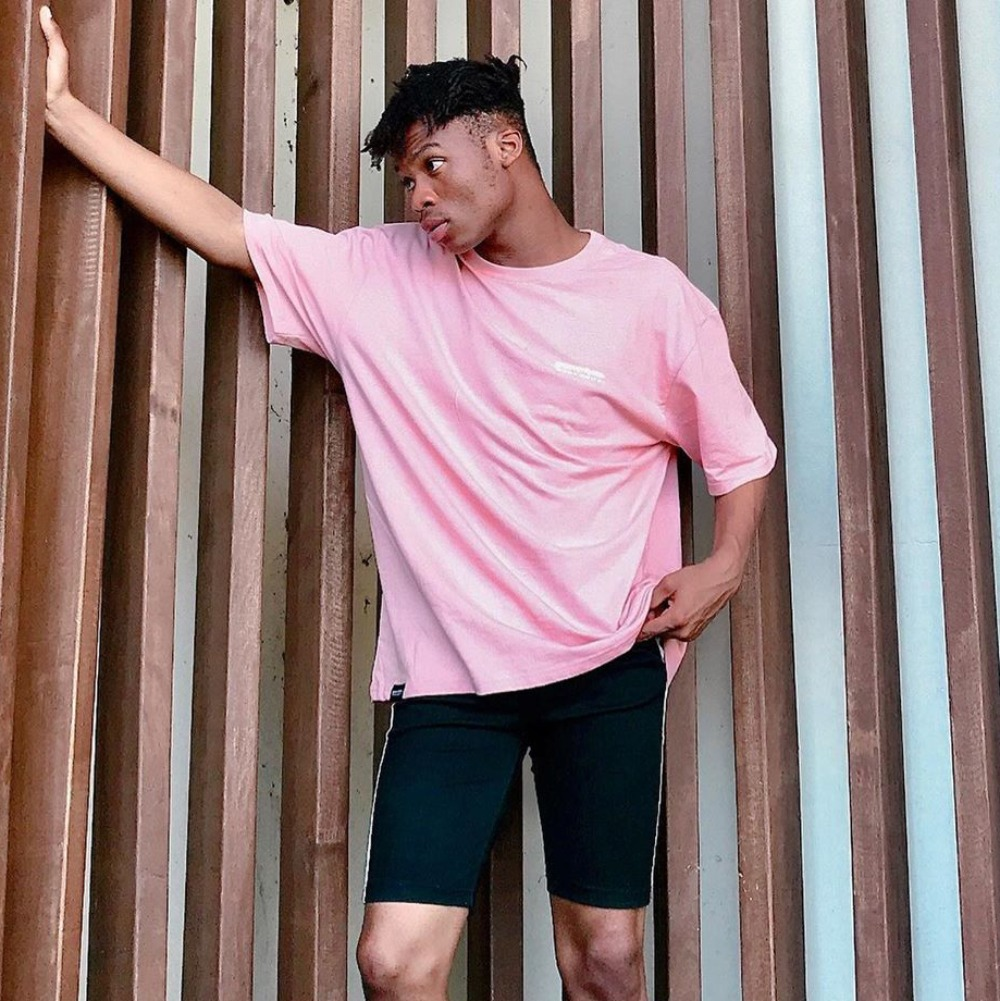 [STYLING] NYC LOCATION T-SHIRT (PINK) [GTS721I23PI]