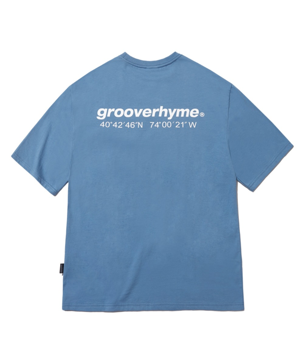 NYC LOCATION T-SHIRT (LIGHT BLUE) [GTS721I23LB]