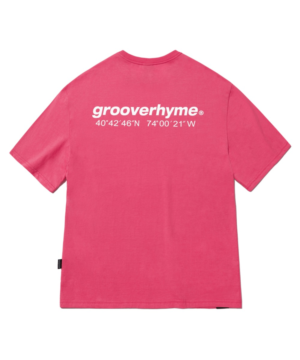 NYC LOCATION T-SHIRT (HOT PINK) [GTS721I23HP]