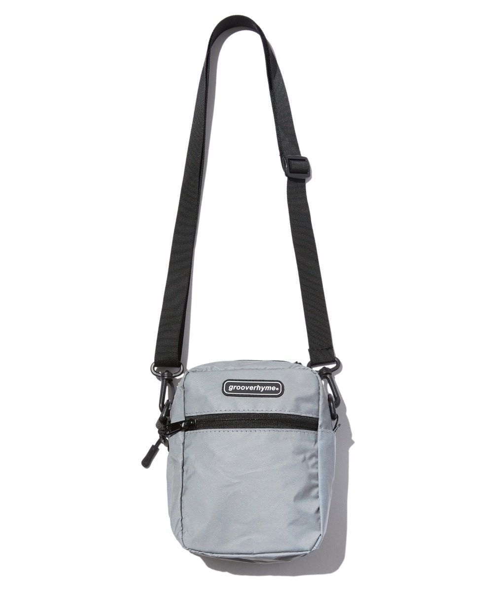REFLECTIVE CROSS BAG (GREY) [GBG111H53GY]