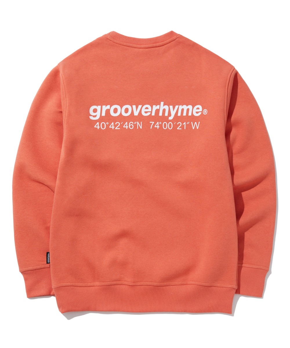 NYC LOCATION SWEAT SHIRTS (ORANGE) [GMT501H43ORA]
