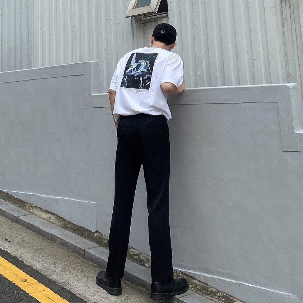 [STYLE] COMBAT AIRCRAFT T-SHIRTS (WHITE) [GTS738I23WH]