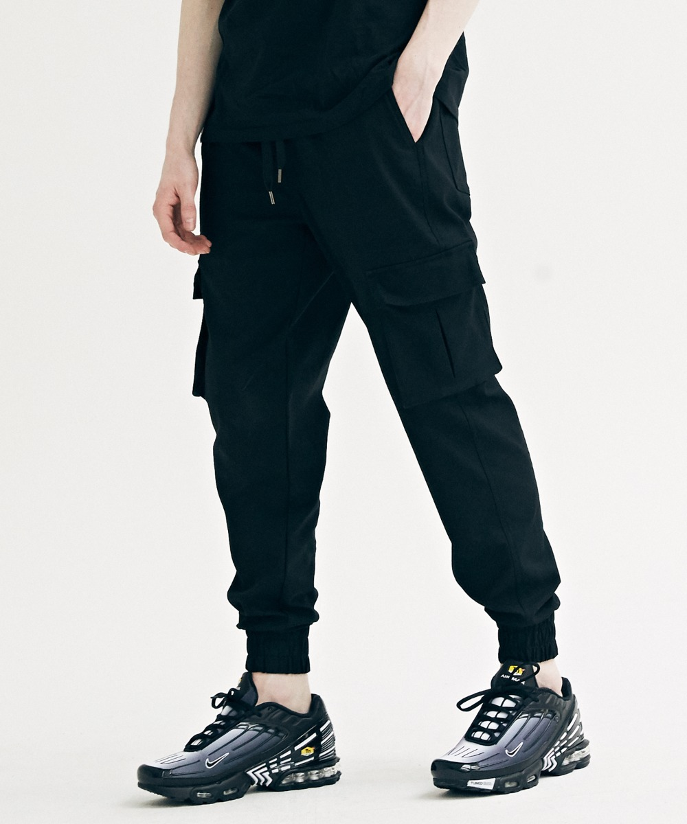 COMFORTABLE JOGGER PANTS (BLACK) [GPT926I13BK]