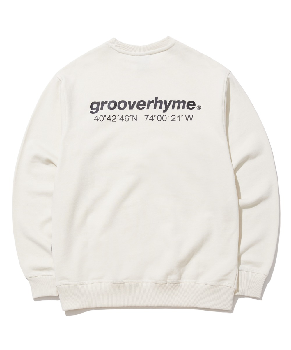NYC LOCATION SWEAT SHIRTS (IVORY) [GMT521I13IV]