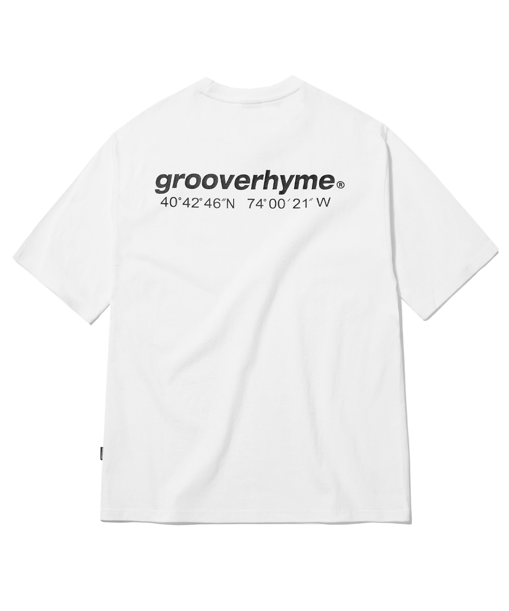 NYC LOCATION T-SHIRT (WHITE) [GTS721I23WH]