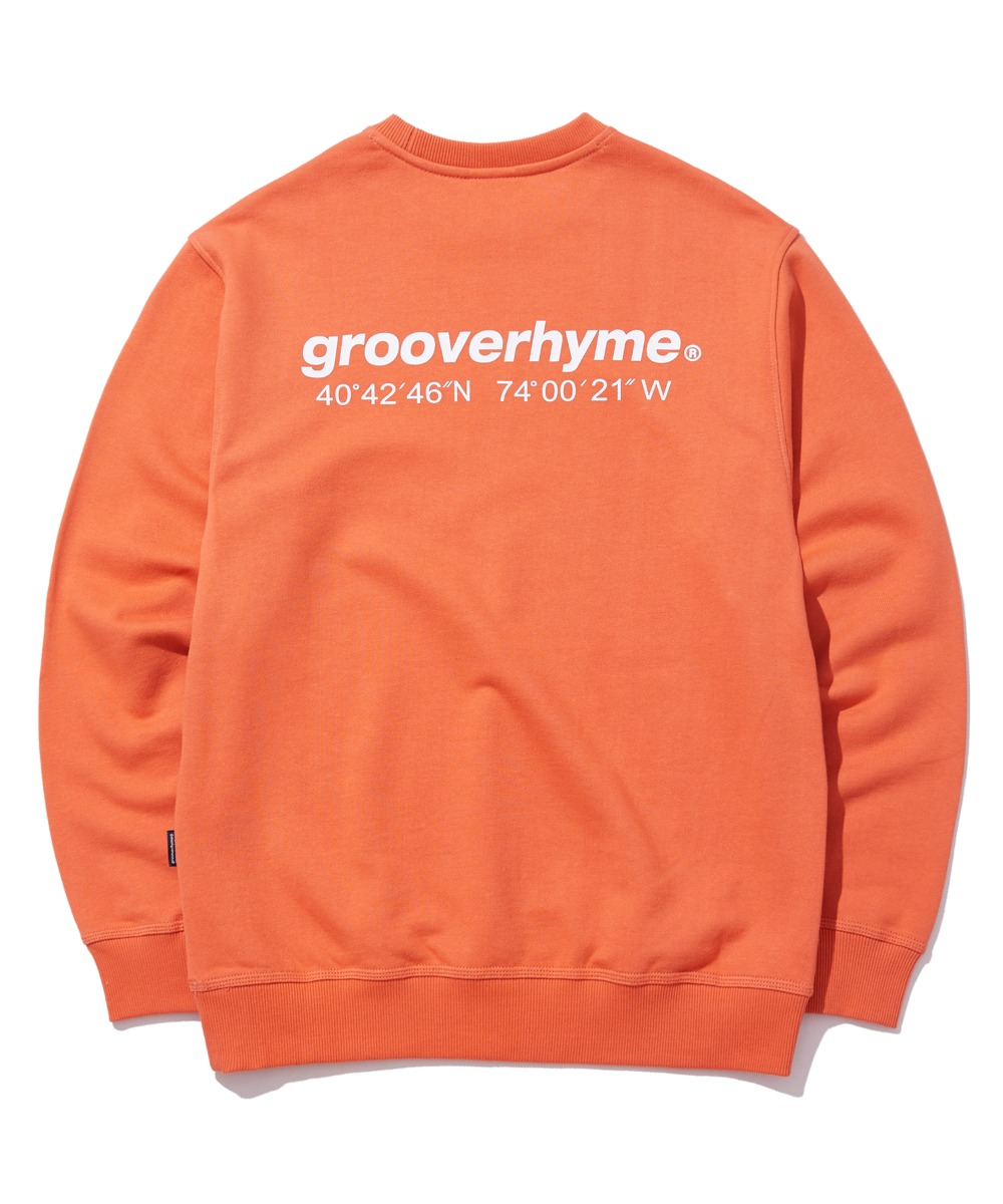 NYC LOCATION SWEAT SHIRTS (ORANGE) [GMT521I13OR]