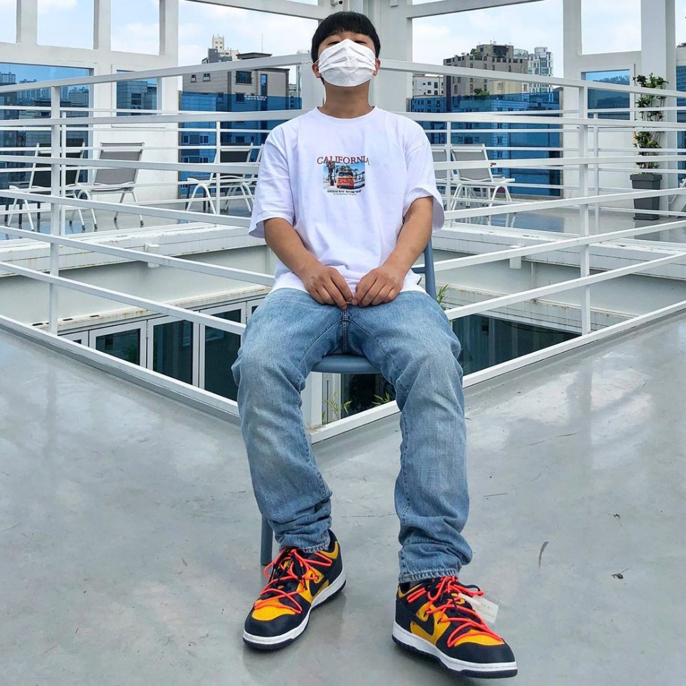 [STYLE] CALIFORNIA ARTWORK T-SHIRTS (WHITE) [GTS739I23WH]