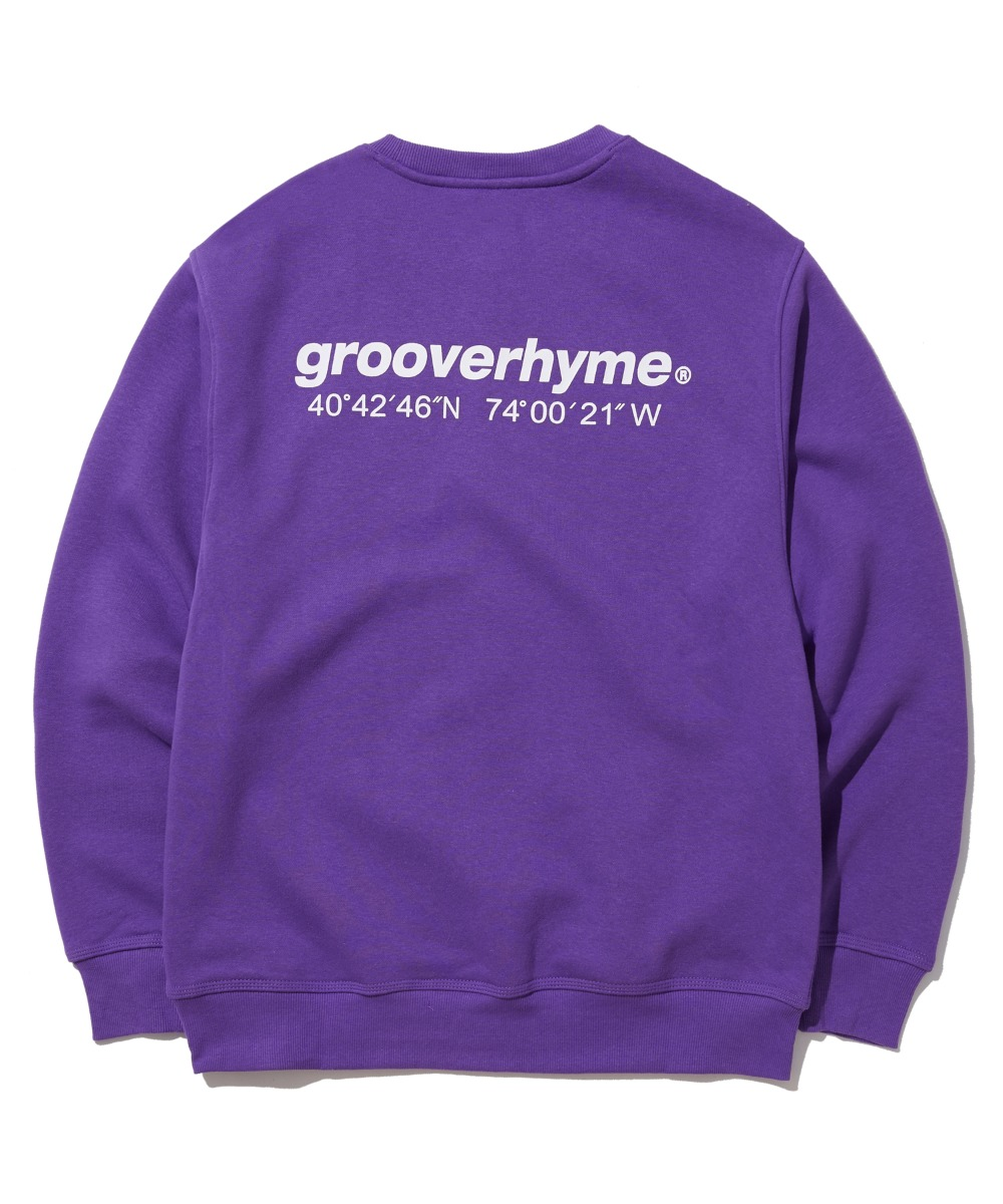NYC LOCATION SWEAT SHIRTS (PURPLE) [GMT501H43PPA]